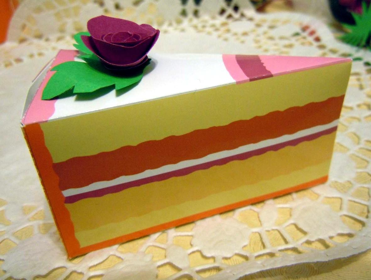 Подарок своими руками торт